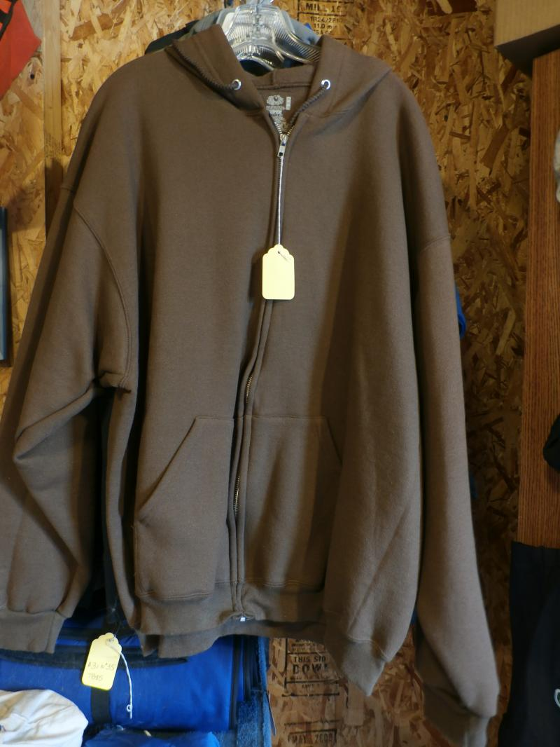 Full zip xxlarge full  size Hooded Sweatshirt Warm and Cozy 12 ounce $25.00